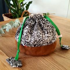 sac goûter maternelle vert Bisbee