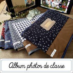 Album photos de classe vintage