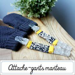 Attache-gants manteau