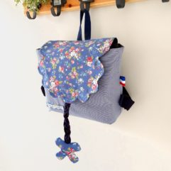 cartable maternelle vintage girly
